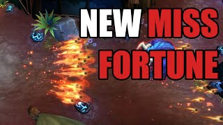 LoL Miss Fortune Rework Gameplay (League of Legends Update)
