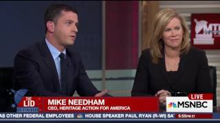 Heritage Action CEO Michael Needham explains House Freedom Caucus is willing to negotiate to pass a health care bill on MSNBC's Meet The Press Daily March 30...