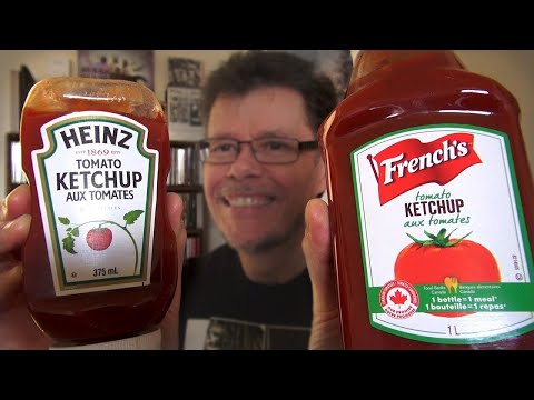 Heinz Ketchup VS French's Ketchup - Taste Test