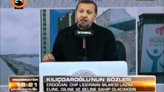 Tayyip çiftçimize Ananı al git burdan derken yüzü kızarmıyor sonra ne demiş bir de ona bakın...The Turkey's President say that fuck off.He said to farmer...