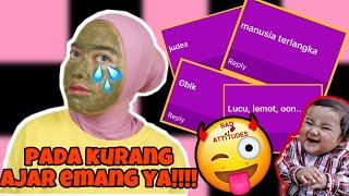 Download Video JADI INI PENDAPAT KALIAN?! EMOSI SAMBIL MASKERAN! | Indira Kalistha MP3 3GP MP4