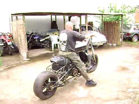 MOTO C/ MOTOR DE FUSCA  - IKARO MECANICO- inspirado nas Antigas Amazonas