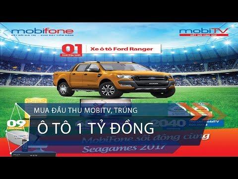 Mua đầu thu MobiTV, trúng ô tô 1 tỷ đồng | VTC1 - Thời lượng: 39 giây.
