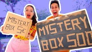 5€ VS 500€ MYSTERY BOX