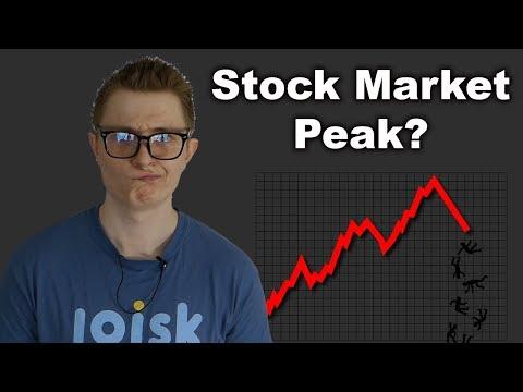 Did the Stock Market Hit Its Peak?
