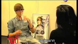 Justin Bieber Interview In Thailand 1/2