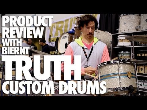 Product Review with Biernt – NAMM EDITION – TRUTH DRUMS