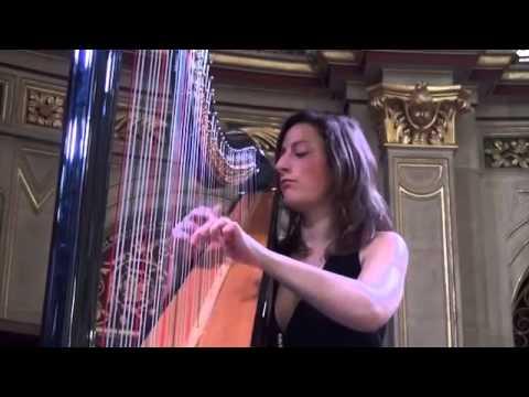 Glinka Nocturne in E Flat Extract - Harpist Cecily