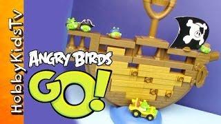 Angry Birds Go Jenga Game
