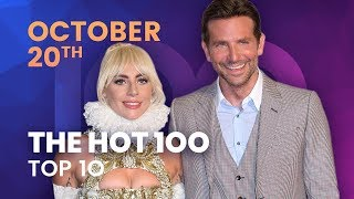 Early Release! Billboard Hot 100 Top 10 October 20th, 2018 Countdown | Official