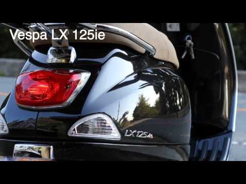 Vespa LX125ie【ブラック】