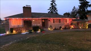 Christmas Lights, Time Lapse 2013
