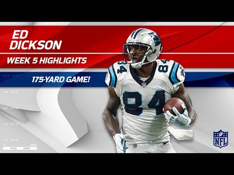 Video: Ed Dickson Explodes for 175 Yards vs. Detroit! | Panthers vs. Lions | Wk 5 Player Highlights