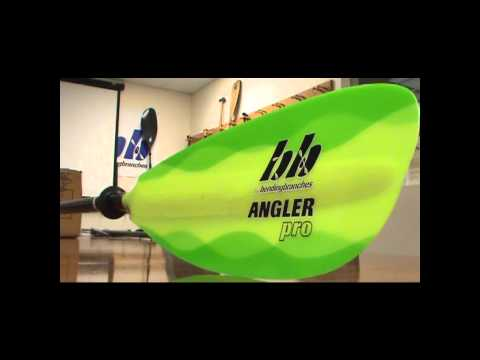 Angler Pro Premier Kayak Fishing Paddle from Bending Branches