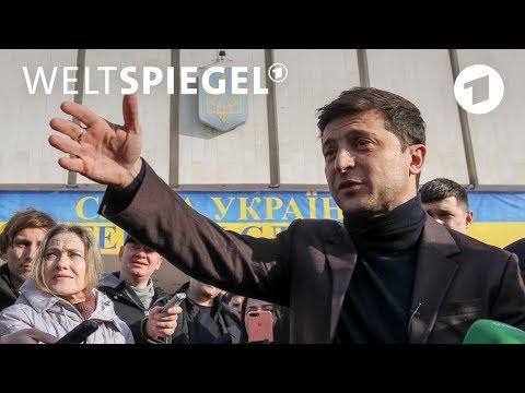 Ukraine: Vom TV-Star zum Präsidenten | Weltspiegel