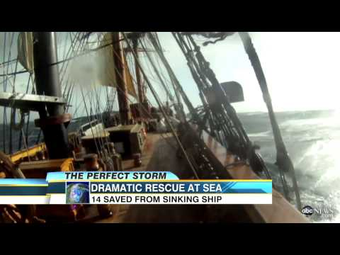 bounty - One person has died and another still missing after the tall ship was caught in rough waters.