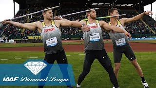 Video The 8 furthest javelin throws in IAAF Diamond League history MP3, 3GP, MP4, WEBM, AVI, FLV Agustus 2019