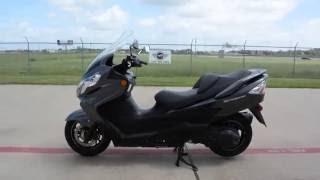 4. For Sale $3,999:  2012 Suzuki Burgman 400 Metallic Thunder Gray