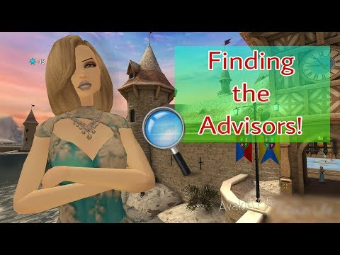 Avakin Life - FINDING THE ROYAL ADVISERS