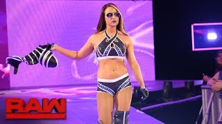 Emma returns to Raw: Raw, June 12, 2017