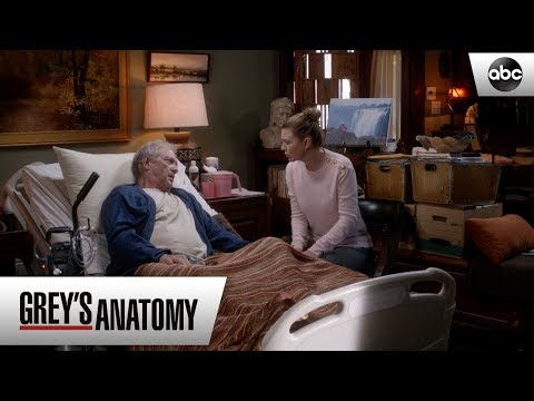 Thatcher Finds Out About Maggie - Grey's Anatomy Season 15 Episode 11