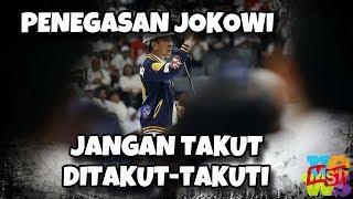 Video Pendukung Ditakut-takuti, Jokowi: Jangan Pernah Takut Ditakut-Takuti MP3, 3GP, MP4, WEBM, AVI, FLV Maret 2019