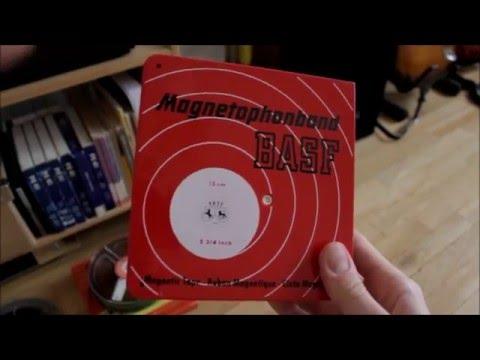 Grundig TK 145 deluxe internal - external speaker comparison + new tapes