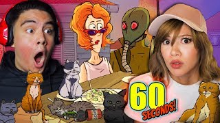 CAT LADY GETS WHAT SHE DESERVES - 60 Seconds w/ Kubz Scouts