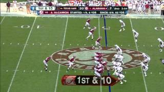 Sean Porter vs Alabama (2012)