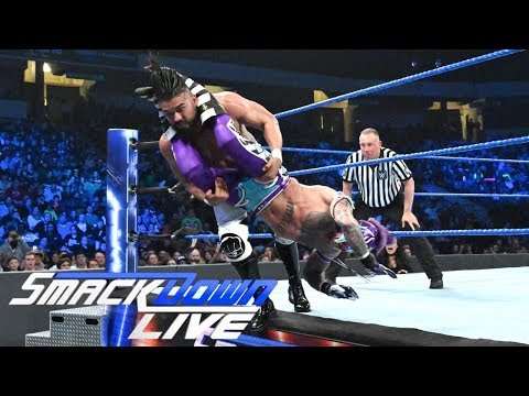 MERCI MYSTERIO ET ANDRADE! Résultats WWE Smackdown Live 15 Janvier 2019