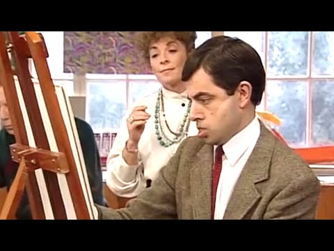 Painting With Bean | Funny Clips | Mr Bean Official