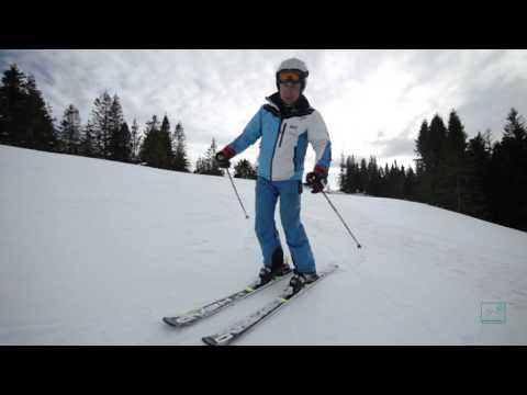 Technika lyžovania: Časť 4 - Zosuvné oblúky a využitie lyžiarskych palíc