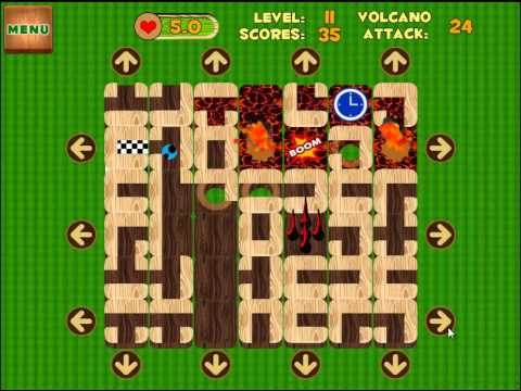 Video of Unblock Maze (Volcano Attack)