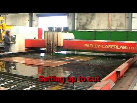 Trident Large Plasma and Oxy Cutting Machine