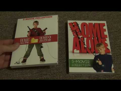 Home Alone 5 Movie Collection DVD Set Unboxing
