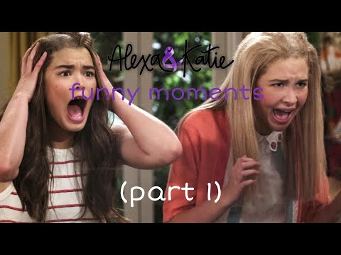 Alexa and katie funny moments (part 1)