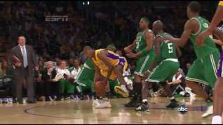 Lakers vs Celtics Game 1 2010 NBA Finals - Kobe 30 points