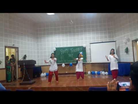 ICFAI university,Tripura.....My frnds performance a dance on Teacher's Day 2k17...