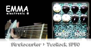 The EMMA Okto-Nøjs features two independent analog octave circuits and a fuzz that can be combined and mixed with dry signal for an unlimited range of octave colors from subtle to extreme.  http://www.godlyke.com/emma-effects-pedals/okto-nojs