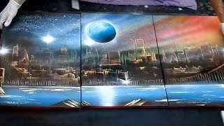 AMAZING SPRAY PAINTING - Art Pictures 3d