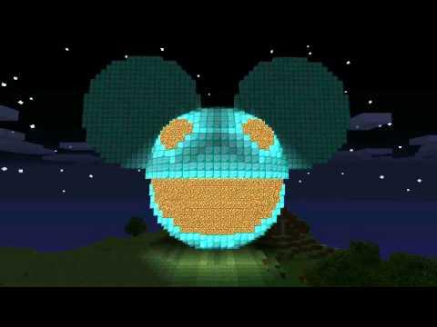 Minecraft deadmau5 head at night niall fegan deadmau5 strobe cover