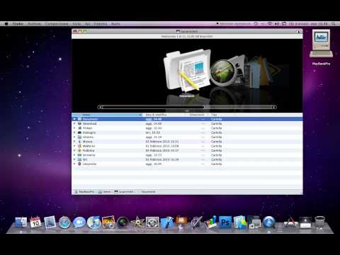 Finder e funzionalit in Mac OSX