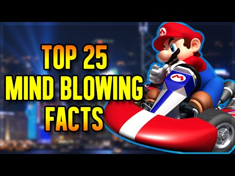 Top 25 MIND BLOWING Video Game Facts!