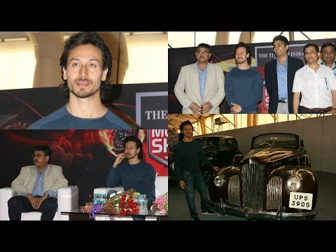 Tiger Shroff At Launch Of 5th Edition Of Mumbai International Motor Show 2017