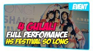 [Full] Perfomance 4 Gulali @ JKT48 So Long Handshake Festival 13/05/2017