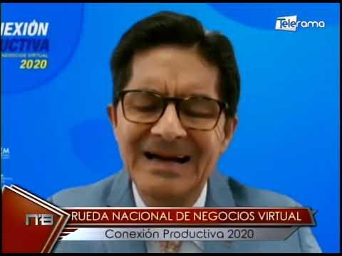 Rueda nacional de negocios virtual conexión productiva 2020