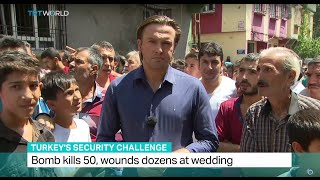 Gaziantep Turkey  city pictures gallery : Bomb kills 50, wounds dozens at wedding in Turkey's Gaziantep. Ediz Tiyansan reports from the city