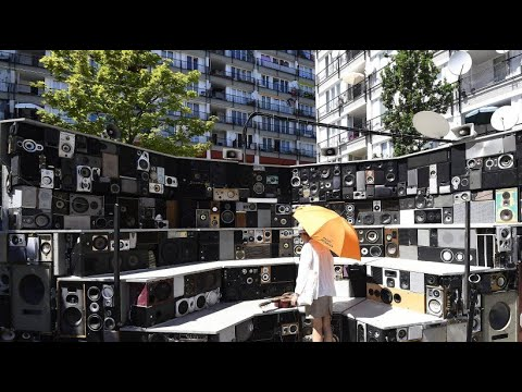 Passanten spielen Konzerte - Maubreys Klangskulptur ...