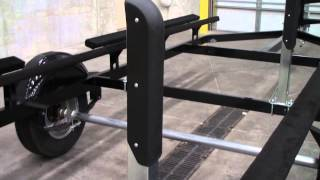 "10. Extreme Maxâ""¢ Heavy Duty Pontoon Trailer Guide-On System"
