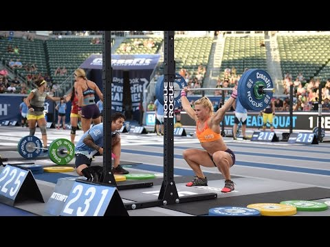 Overhead - The CrossFit Games -- (http://games.crossfit.com) The CrossFit Games® - The Sport of Fitness™ The Fittest On Earth™